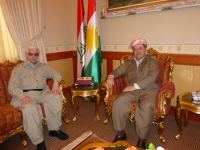 Dr Jawad Mella and Masoud Barzani the President of Iraqi Kurdistan