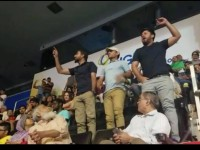 Baloch activists heckled Pakistani PM's speech: Capital one Arena